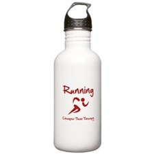 Running Cheaper Than Therapy! Water Bottle