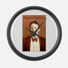 Anton Chekhov Large Wall Clock