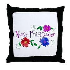Nurse Practitioner III Throw Pillow
