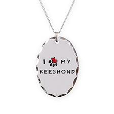 I *heart* My Keeshond Necklace
