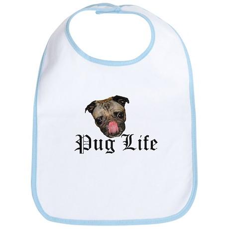 Chewie Pug Life Bib