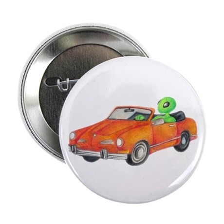 "Volkswagen Karmann Ghian 2.25"" Button (10 pac"