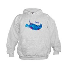 Stingray in Bold Colors Hoody