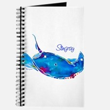 Stingray in Bold Colors Journal