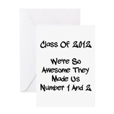 Class 2012 Awesome! Greeting Card