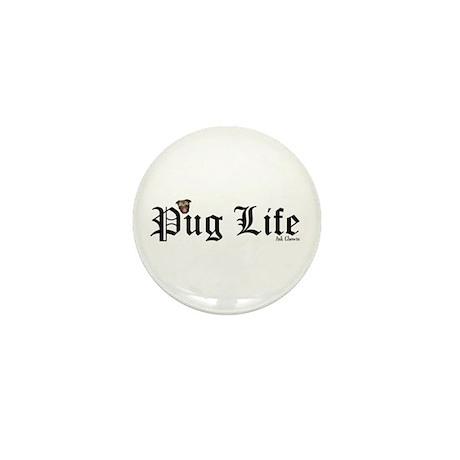 Super Pug Life Mini Button