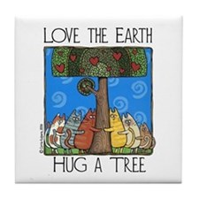 Tree-Huggers Art Tile