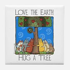 Tree-Huggers Art Tile