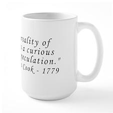 Capt. Cook 1779 Tattoo Quote Mug