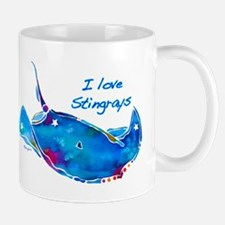 I LOVE STINGRAYS Mug