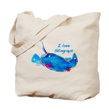 I LOVE STINGRAYS Tote Bag