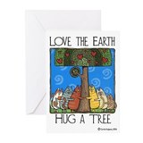 Mother earths animals Greeting Cards (10 Pack)