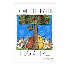 Tree-Huggers Postcards (Package of 8)