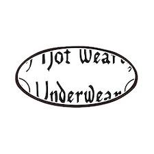 Not Wearing Underwear Patches
