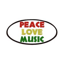 Peace Love Music Patches
