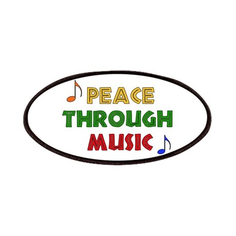 Peace Through Music Patches