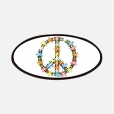 Peace Flowers Patches