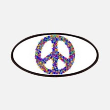Star Peace Symbol Patches