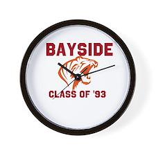 Bayside Tigers Wall Clock