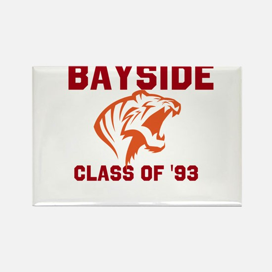 Bayside Tigers Rectangle Magnet