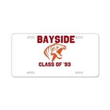 Bayside Tigers Aluminum License Plate
