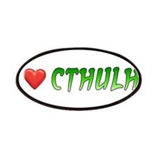 I Heart Cthulhu Patches