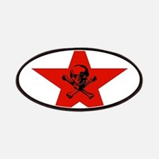 Red Star and Skull Patches