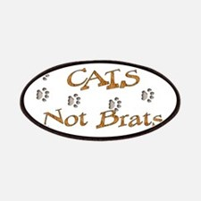 Cats Not Brats Patches