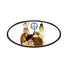 World Peace Cats Patches