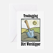 Dirt Worshipper Greeting Cards (Pk of 10)