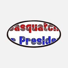 Sasquatch For President Patches