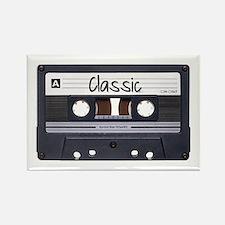 Classic Cassette Rectangle Magnet