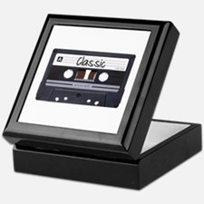 Classic Cassette Keepsake Box