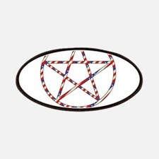 Wiccan Patriot Patches