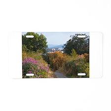 Boulevard Trail Aluminum License Plate