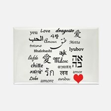 Love Everywhere! Rectangle Magnet (100 pack)