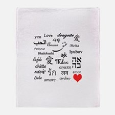 Love Everywhere! Throw Blanket