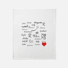 Love Everywhere! Throw Blanket