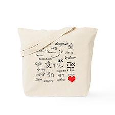 Love Everywhere! Tote Bag