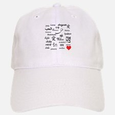 Love Everywhere! Baseball Baseball Cap