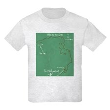 Hollywood Sign Hike Kids T-Shirt
