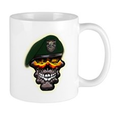 US Army Special Forces Skull Mug