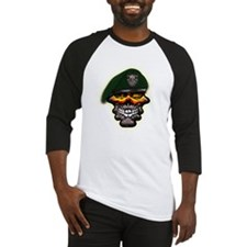 US Army Special Forces Skull Baseball Jersey