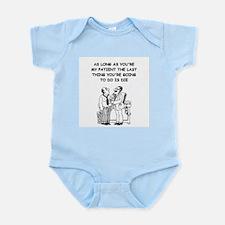 funny doctor joke Infant Bodysuit