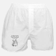 funny doctor joke Boxer Shorts