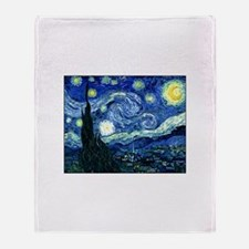 Starry Night Throw Blanket
