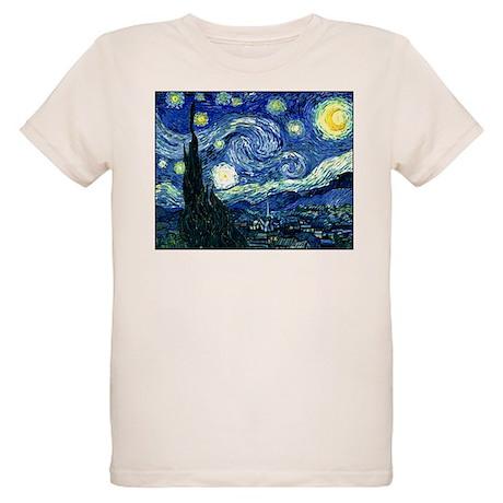 Starry Night Organic Kids T-Shirt