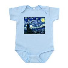 Starry Night Infant Bodysuit