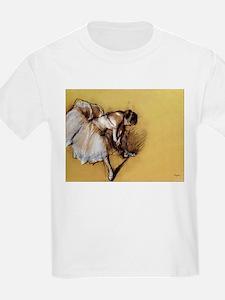 Degas' Dancer Adjusting Her S T-Shirt