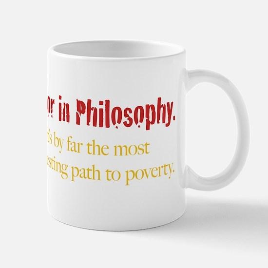 Major in Philosophy Mug